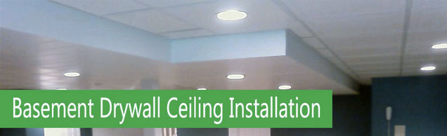 How To Install Drywall On A Basement Ceiling Home Painters