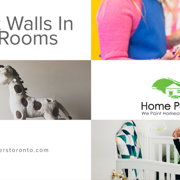 Accent Walls in Kids' Rooms